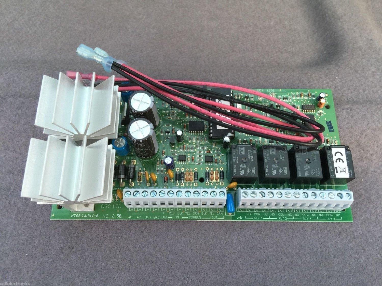 Amazon.com : DSC Security Alarm System - PC6204 MAXSYS ...