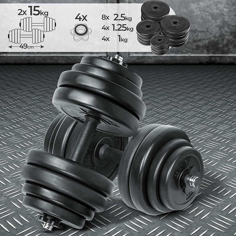 ENCORE FITNESS APPAREL Mancuerna Ajustable 20 kg