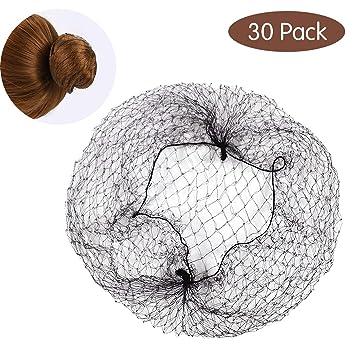 Bun Nets, 30 Pz Retina per Capelli Chignon Invisibile Rete