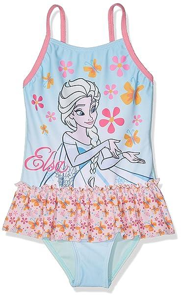 original de costura caliente 100% de alta calidad genuino mejor calificado Disney La reine des neiges bañador Bebe para Niñas