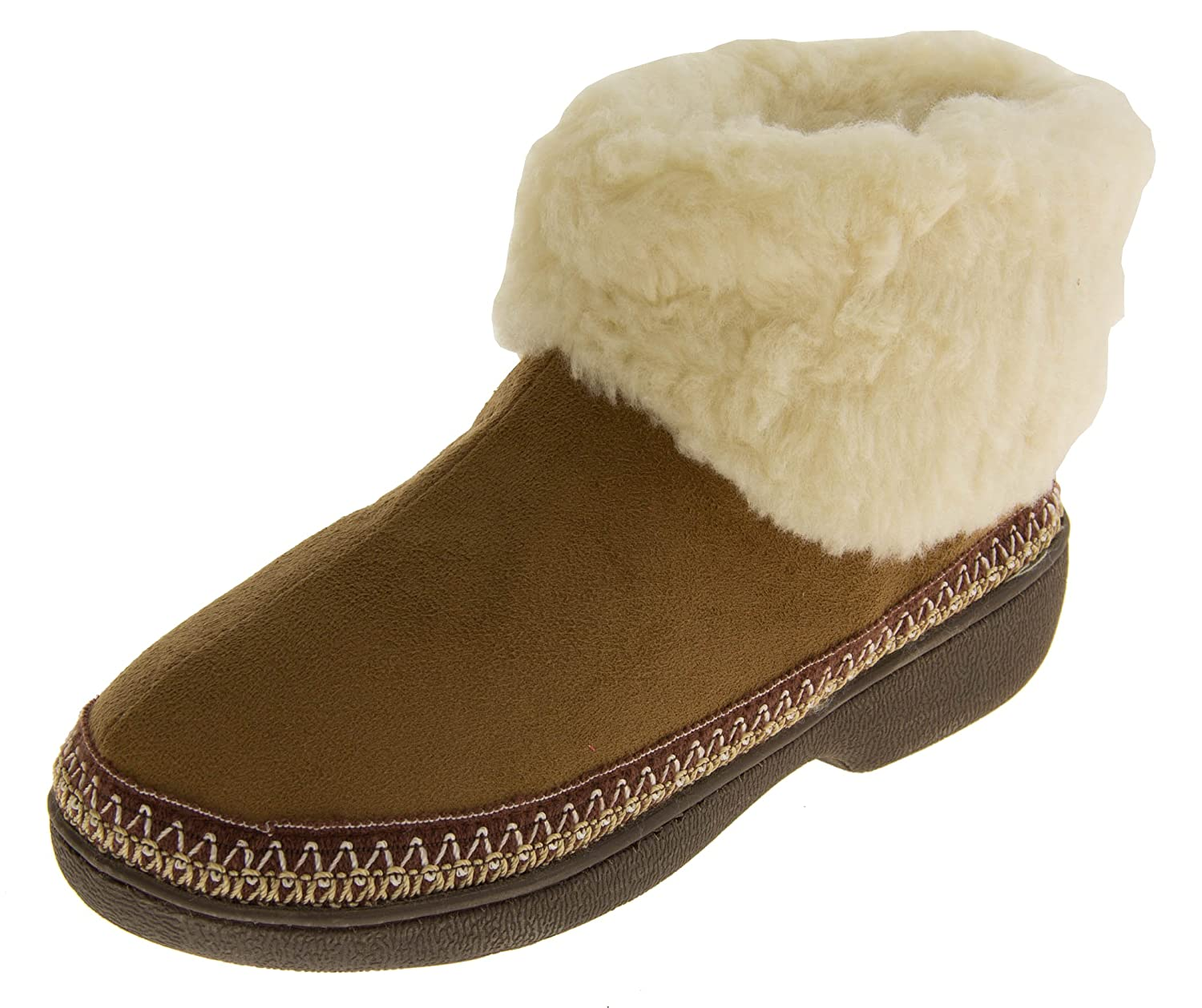 Femmes doublure - Chaussons bottes semelle extérieur doublure semelle chaude Brun bottes Clair dc3c6ed - conorscully.space