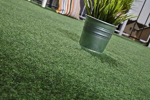 Andiamo Field - Alfombra césped artificial de campo - para Jardín, Terraza, Balcón - Verde - 5 tamaños: Amazon.es: Jardín