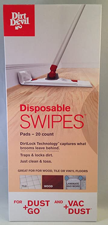 Dirt Devil Disposable Swipes For Dust Go And Vac Dust Amazon Com