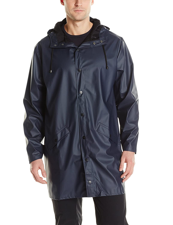 レインズ ロングジャケット 全5色 全5サイズ ブルー M/L 止水ファスナー 12020202 B00HAHNVSY M/L|ブルー ブルー M/L