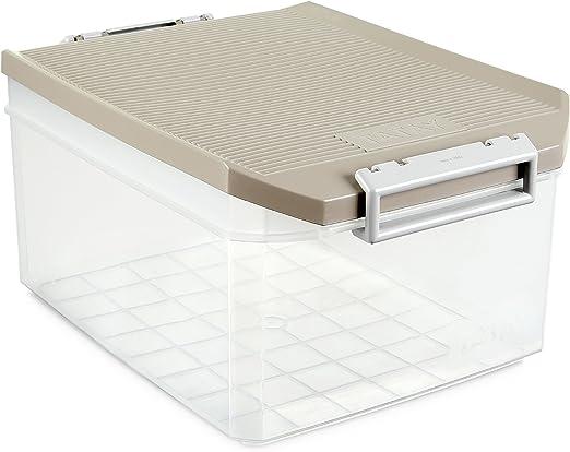 Tatay 1150123 Caja de Almacenamiento Multiusos 14 l de Capacidad ...