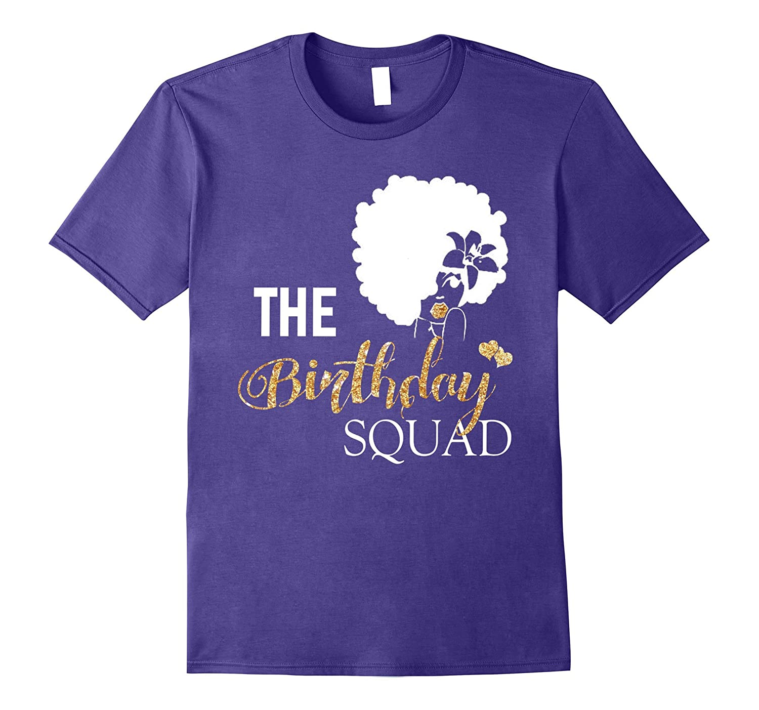 Black girl magic birthday squad shirt gold party gift t for Bucket squad gold shirt