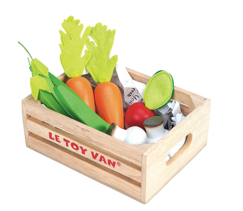 Le Toy Van Jouets en Bois-Récolte de Légumes, TV182