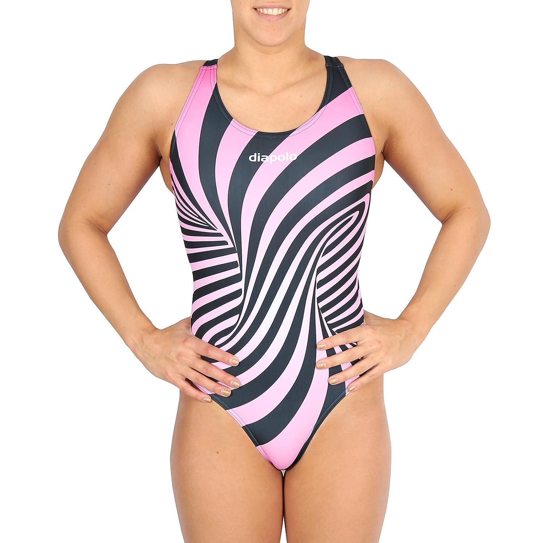 Diapolo Twist Badeanzug für Schwimmen Synchronschwimmen Wasserball Thriathlon