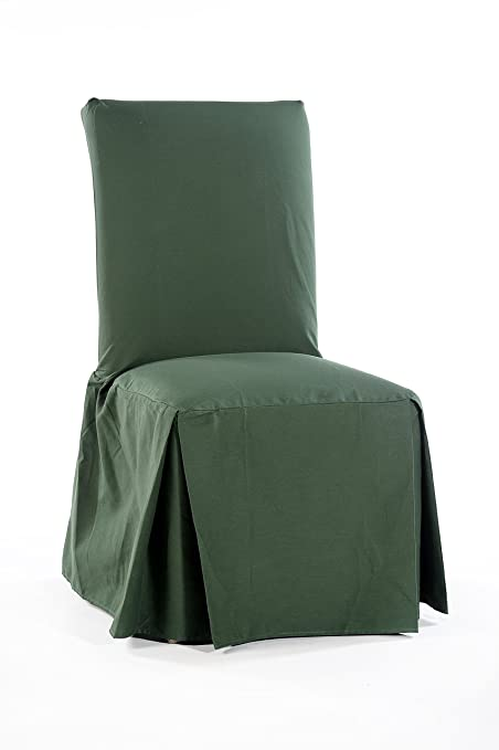Surprising Amazon Com Classic Slipcovers Csi Cotton Duck Long Dining Cjindustries Chair Design For Home Cjindustriesco