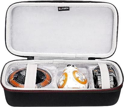 LTGEM EVA Estuche rígido de Viaje de Transporte de Almacenamiento de Bolsa para Sphero Robot electrónico droide BB-8 Star Wars.: Amazon.es: Juguetes y juegos