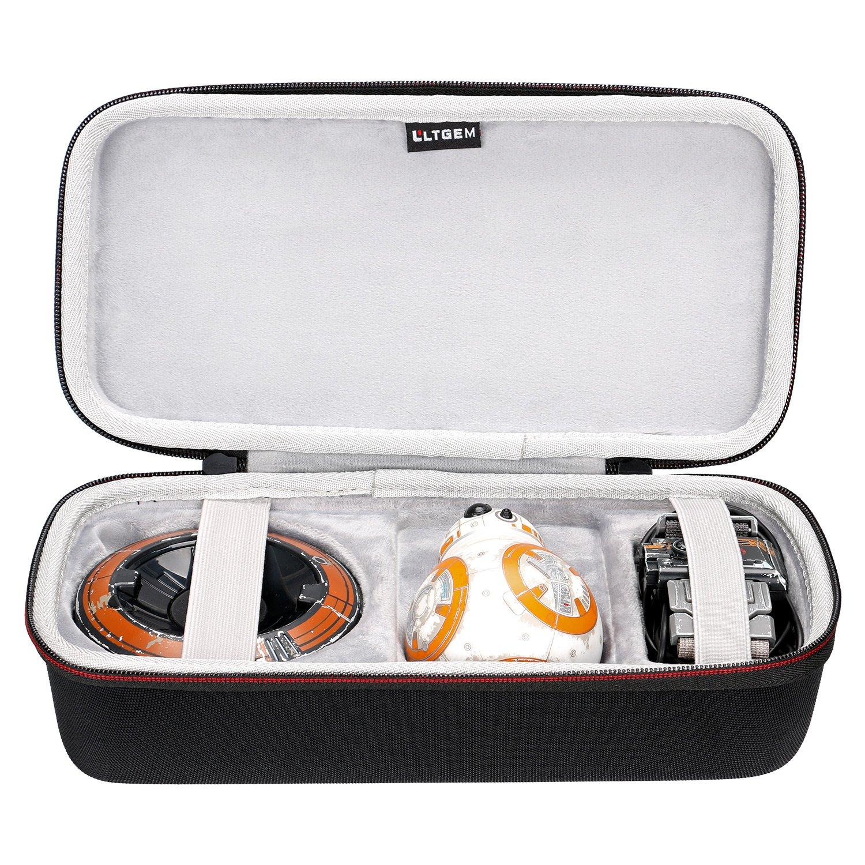 LTGEM EVA Hard Case for Sphero R2-D2 App-Enabled Droid - Travel Protective Carrying Storage Bag CS167