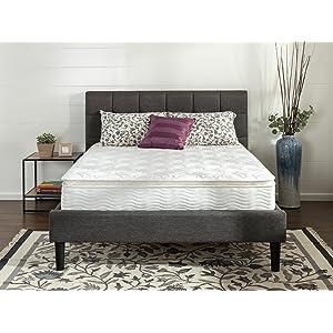 Zinus Ultima Comfort 10 Inch Pillow Top Spring Mattress