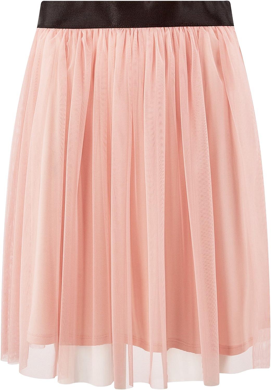 oodji Ultra Womens Elastic Waistband Mesh Skirt