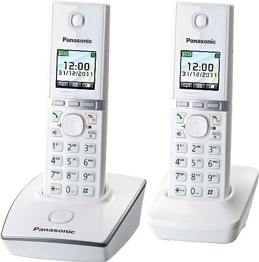 Panasonic KX-TG 8052 - Teléfono inalámbrico con contestador automático: Amazon.es: Electrónica