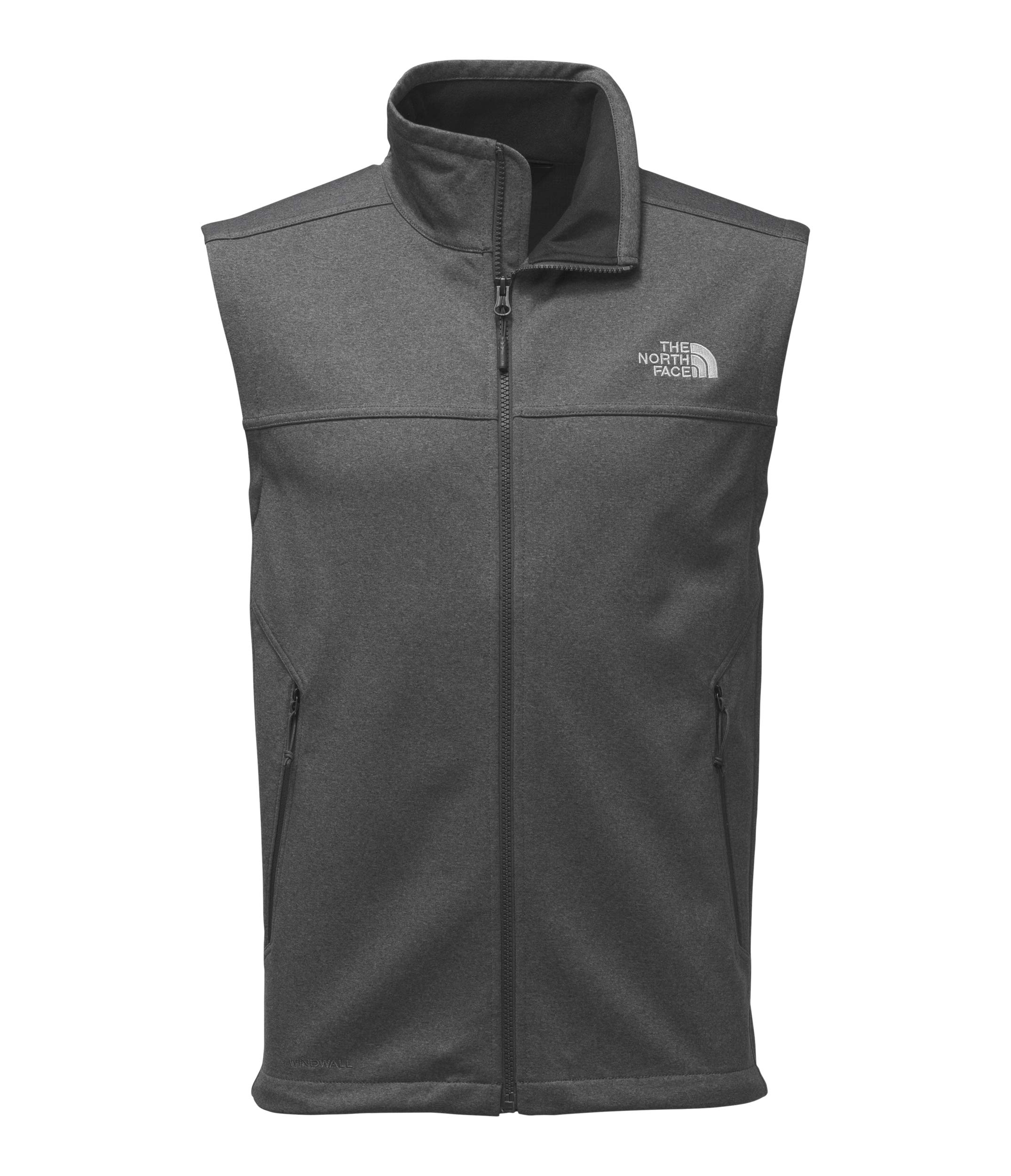 The North Face Men's Apex Canyonwall Vest - TNF Dark Grey Heather & TNF Dark Grey Heather - S