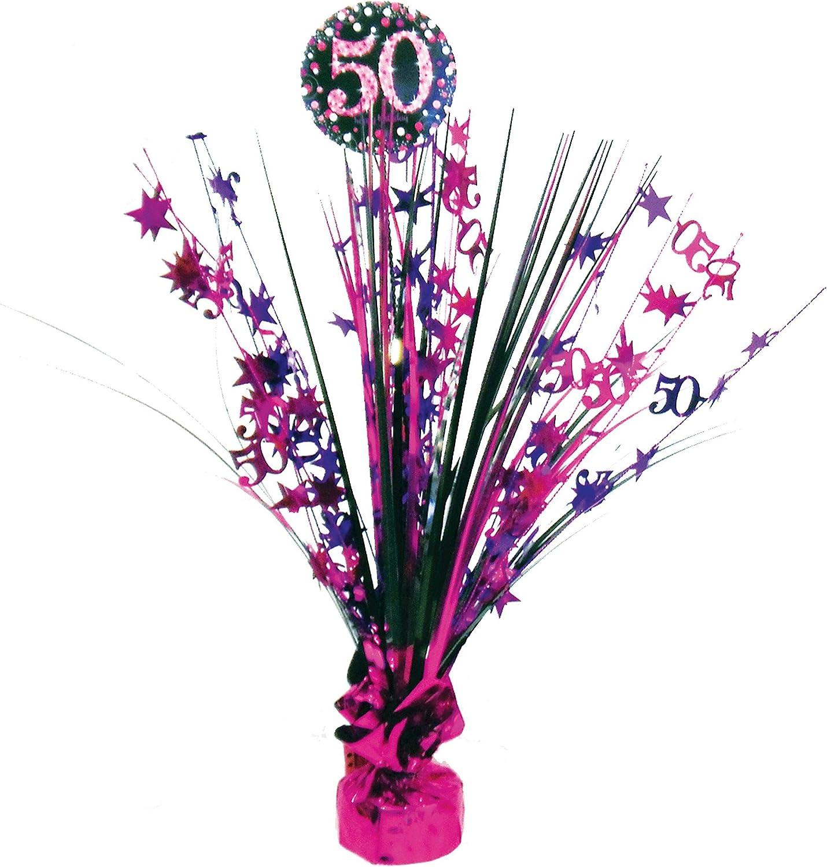 Amscan mousseux or Fête 30th anniversaire pièce maîtresse Spray décoration