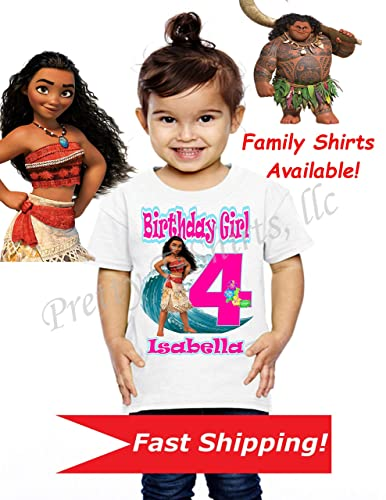 8d5c08c6 Image Unavailable. Image not available for. Color: Moana Birthday Shirt,  Family ...