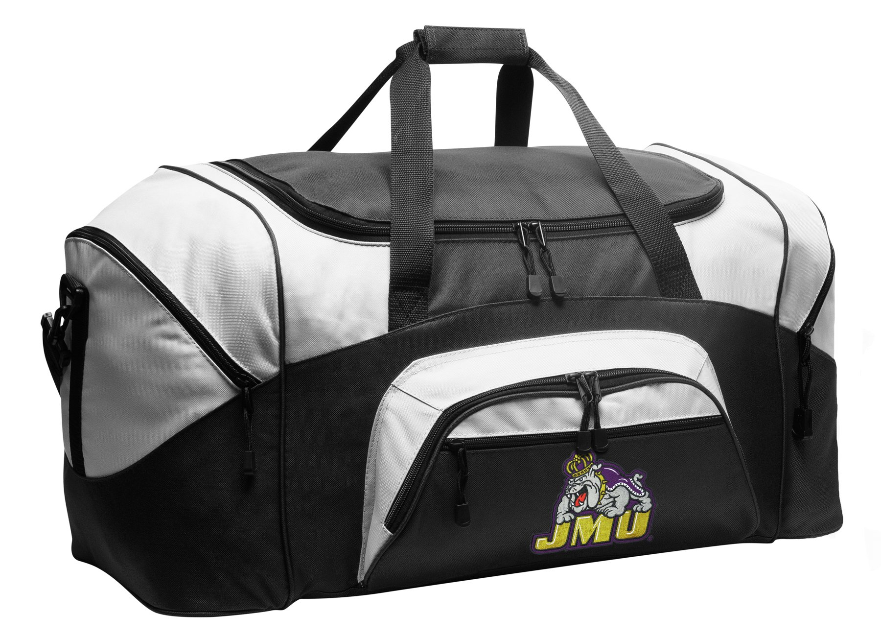 Large JMU Duffel Bag James Madison University Suitcase or Gym Bag for Men Or Her
