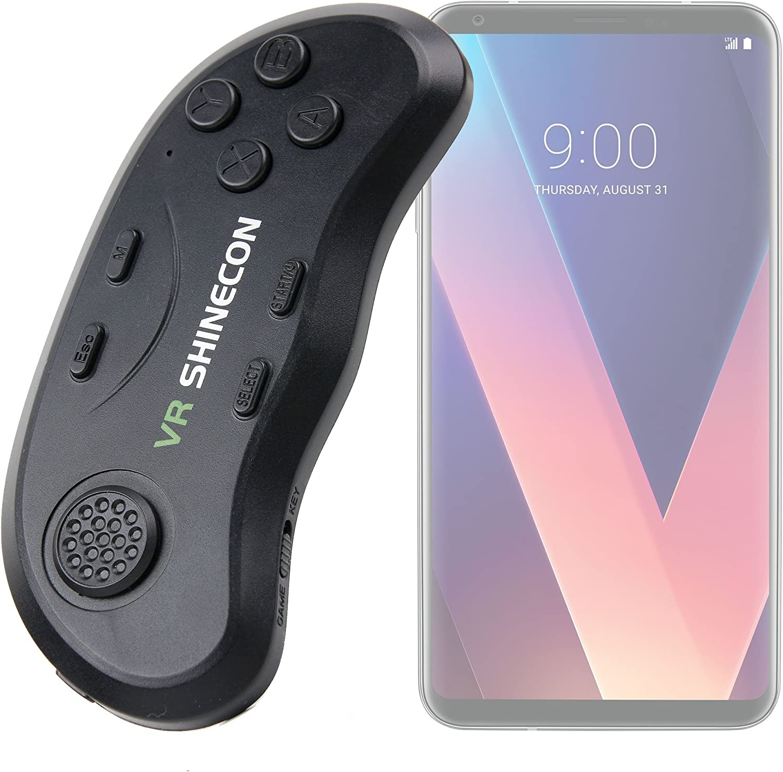 Controlador inalámbrico Bluetooth para gafas VR para Smartphone LG V30 y Motorola Moto X4/umidigi Z1 Pro, umidigi Z1/Wileyfox Swift 2 X – Compatible con iOS y Android – DURAGADGET: Amazon.es: Electrónica