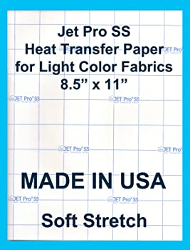 Jet-Pro SofStretch Inkjet Heat Transfer Paper
