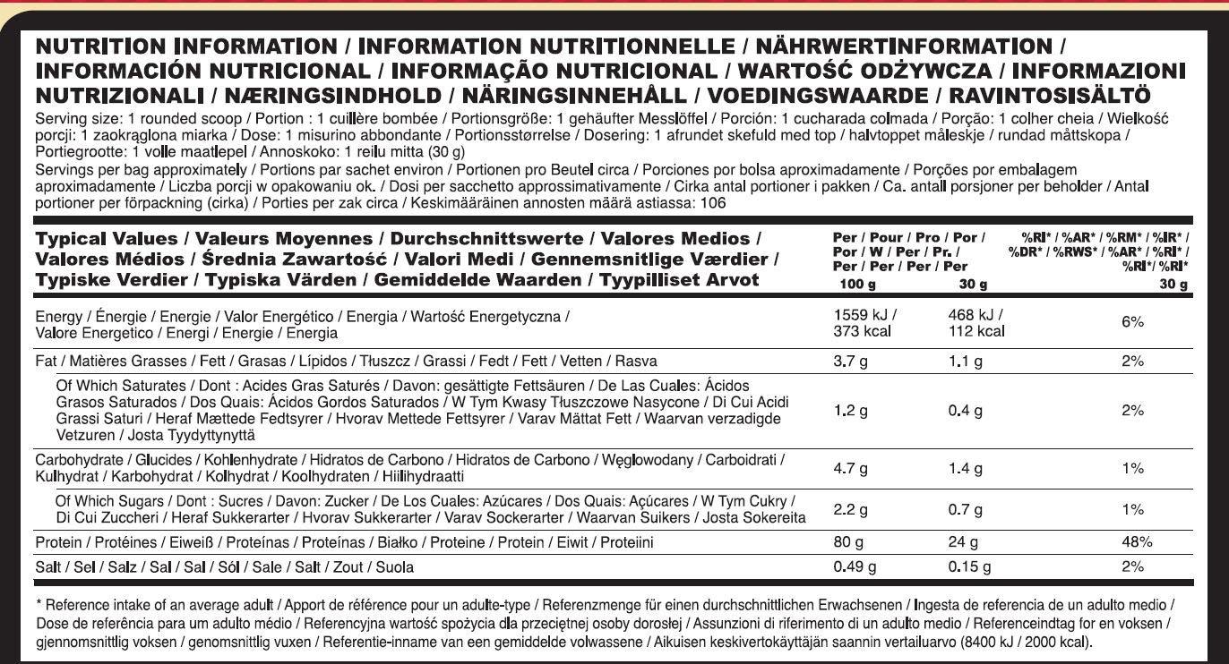 Optimum Nutrition Gold Standard 100% Proteínas Whey en Polvo, Vainilla 3.18Kg