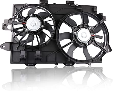 New Radiator Cooling Fan Assembly For Chevy Equinox Pontiac Torrent 2006-2008