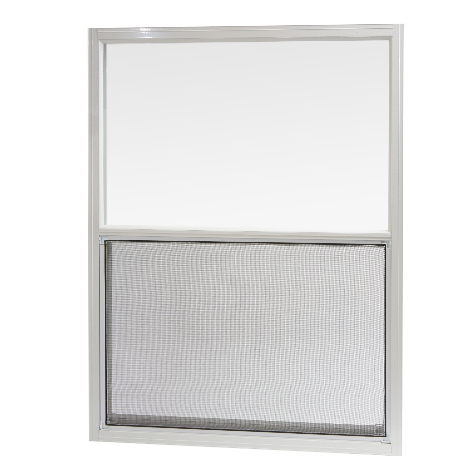 Park Ridge AMHW3040PR Aluminum Mobile Home Single Hung Window 30 Inch x 40 Inch, White