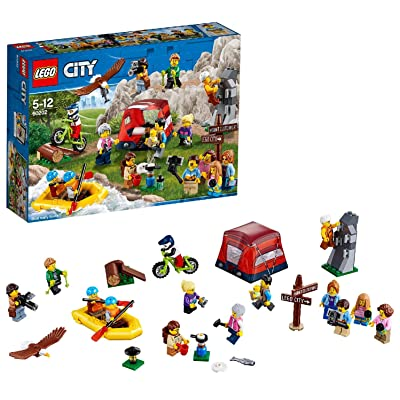 LEGO City Town People Pack - Outdoor Adventures Building Set: Toys & Games