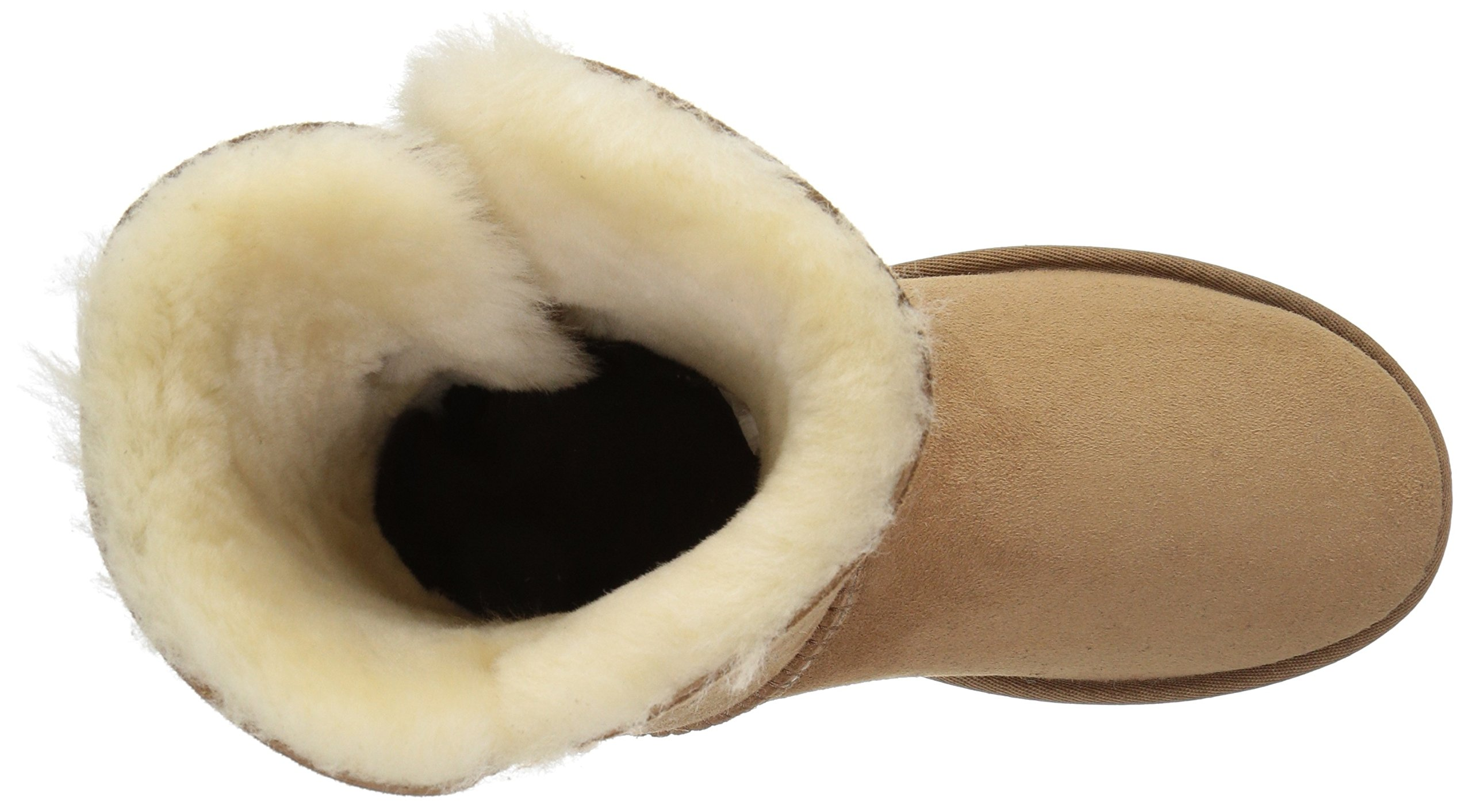 UGG Women's Bailey Button II Winter Boot, Chestnut, 8 B US by UGG (Image #8)