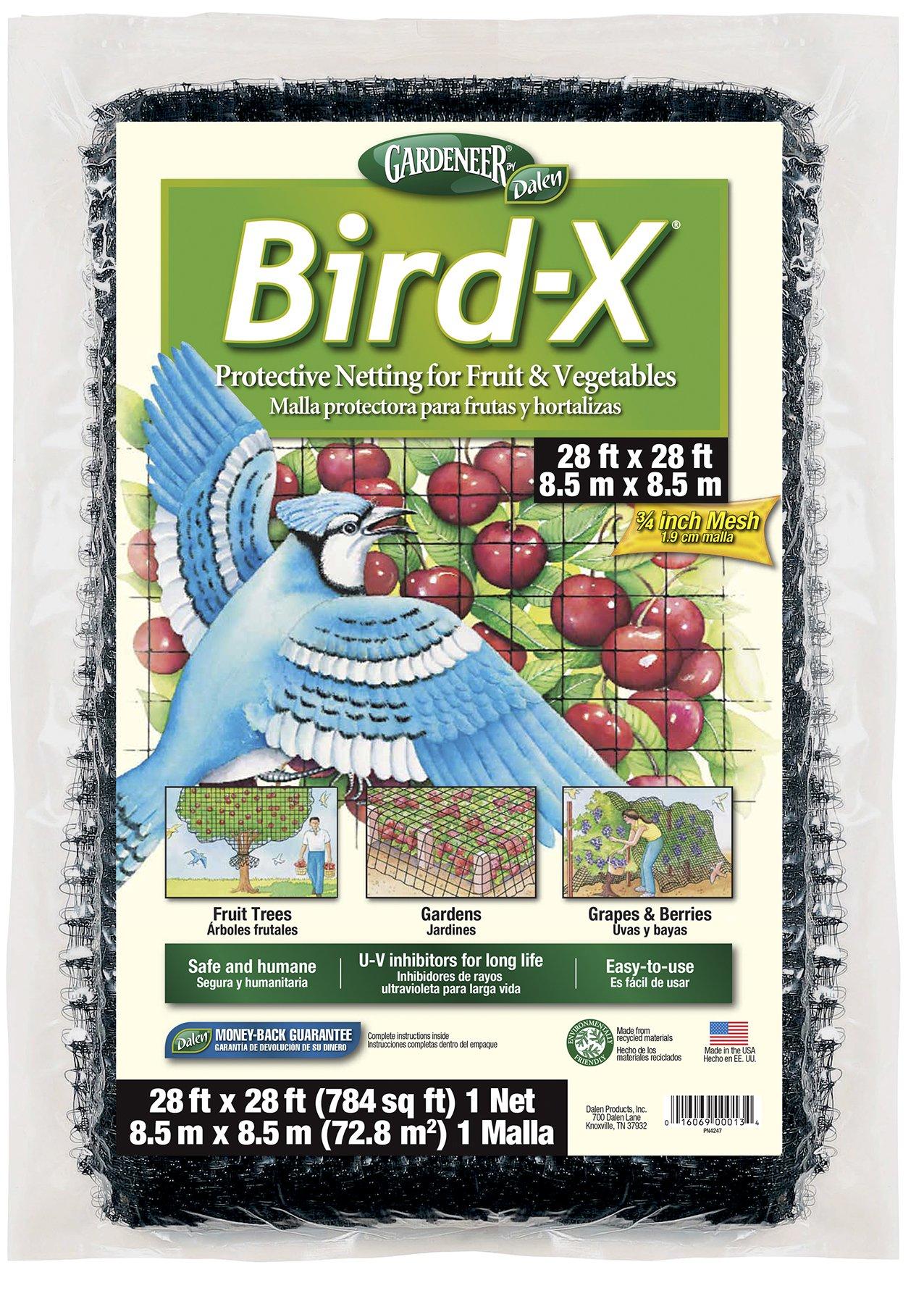 Dalen BN-3 Gardeneer Bird-X Protective Netting 28' x 28' (1 Pack) (100055857)