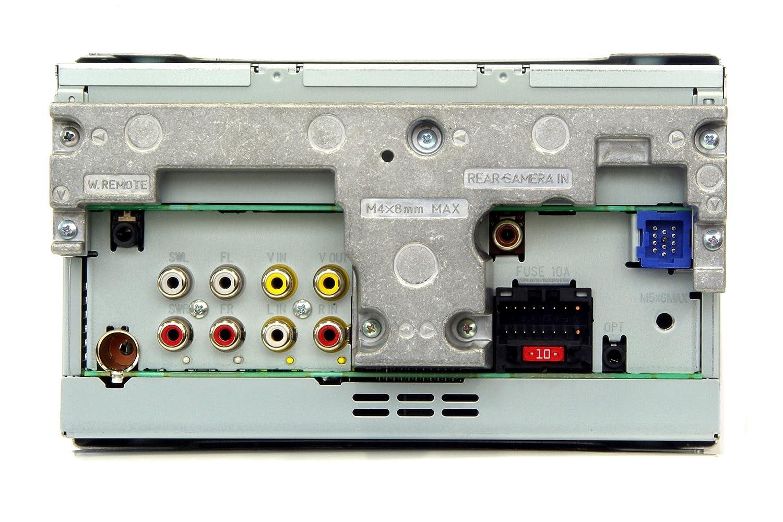 pioneer avh p3100dvd 5 8 inch double din multimedia player amazon rh amazon co uk