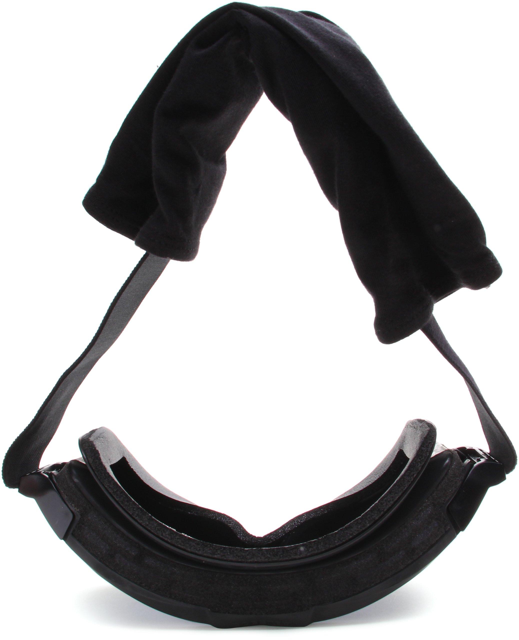 Bobster Alpha Ballistics Goggles, Black Frame/Smoke & Clear Lenses by Bobster Eyewear (Image #5)