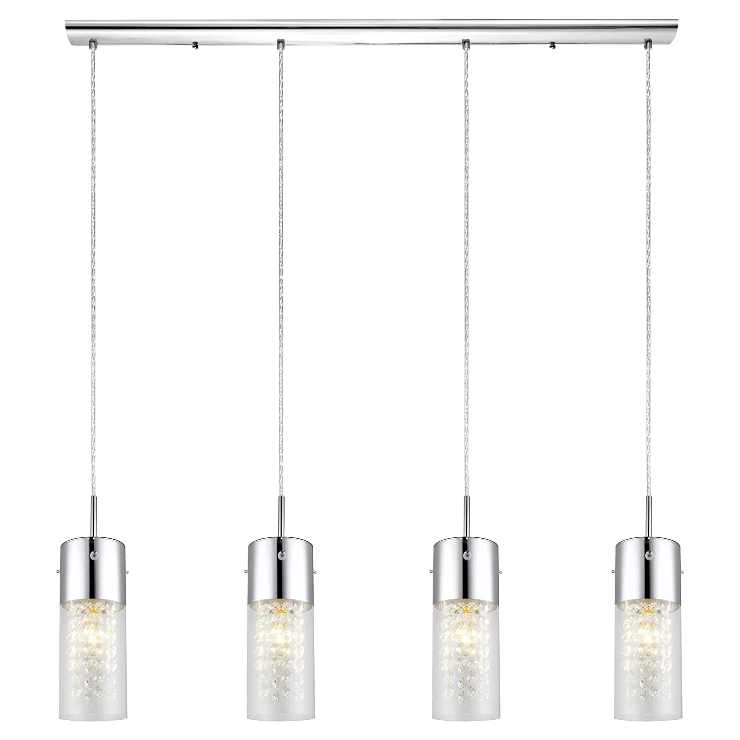 pendant olvero lights lighting multi light eglo satinated led glass drop image stylish with shades ceiling