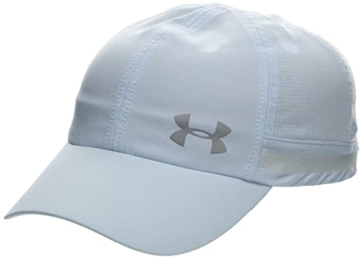 online retailer c18e2 2d3fe Under Armour Women s UA Fly By Cap Coded Blue Reflective, One Size