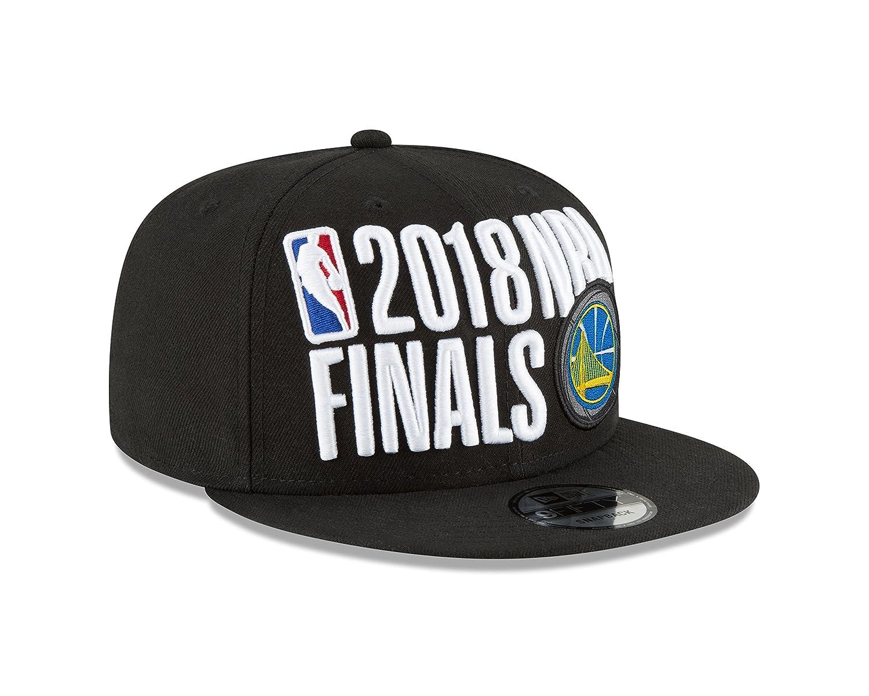 b4b51e975946df Amazon.com: New Era Golden State Warriors 2018 Western Conference Champions  Locker Room 9FIFTY Snapback Adjustable Hat – Black: Clothing
