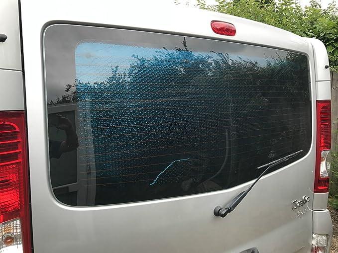 Térmica Plata Protector de ventana persianas Trafic/Vivaro/PRIMASTAR: Amazon.es: Coche y moto