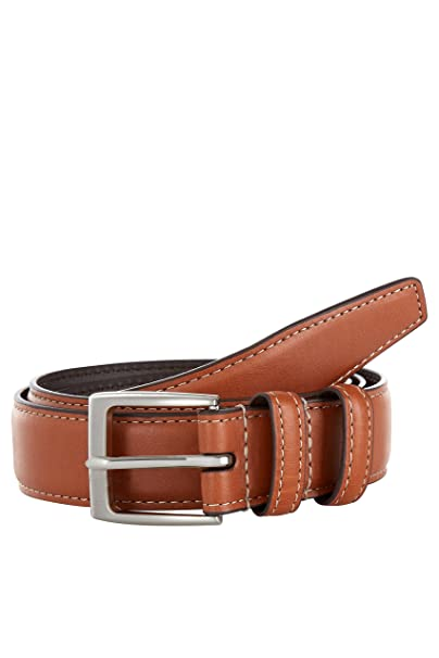7d04717d0cd2 Moss 1851 Men s Tan Casual Chino Belt at Amazon Men s Clothing store