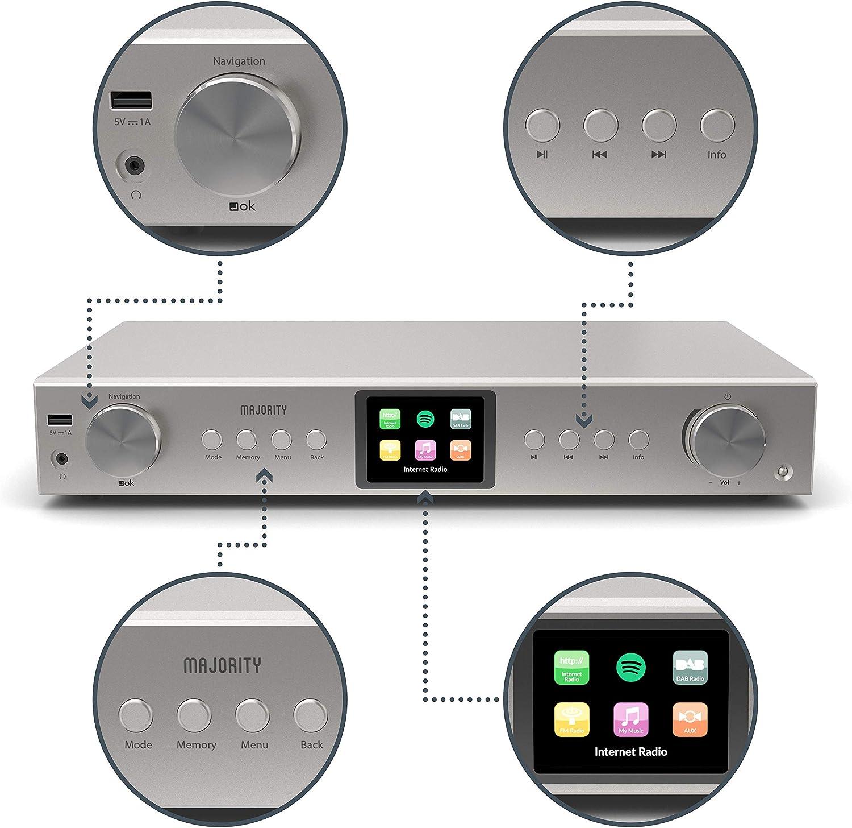 Datos USB//Cargador Cable Negro para uno puro Mi//una radio DAB mi serie 2