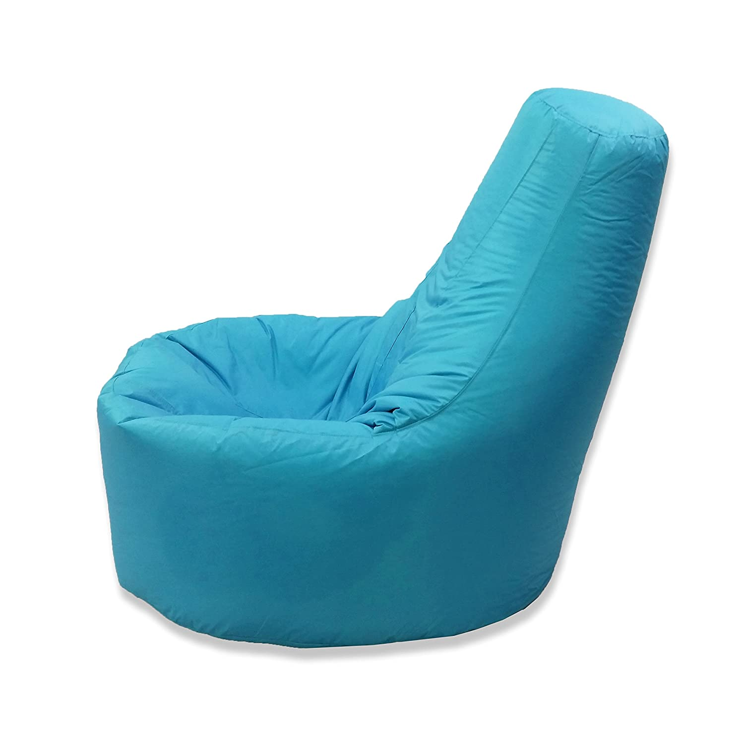Large Bean Bag Gamer Recliner Outdoor And Indoor Adult Gaming XXL Teal Aqua Blue