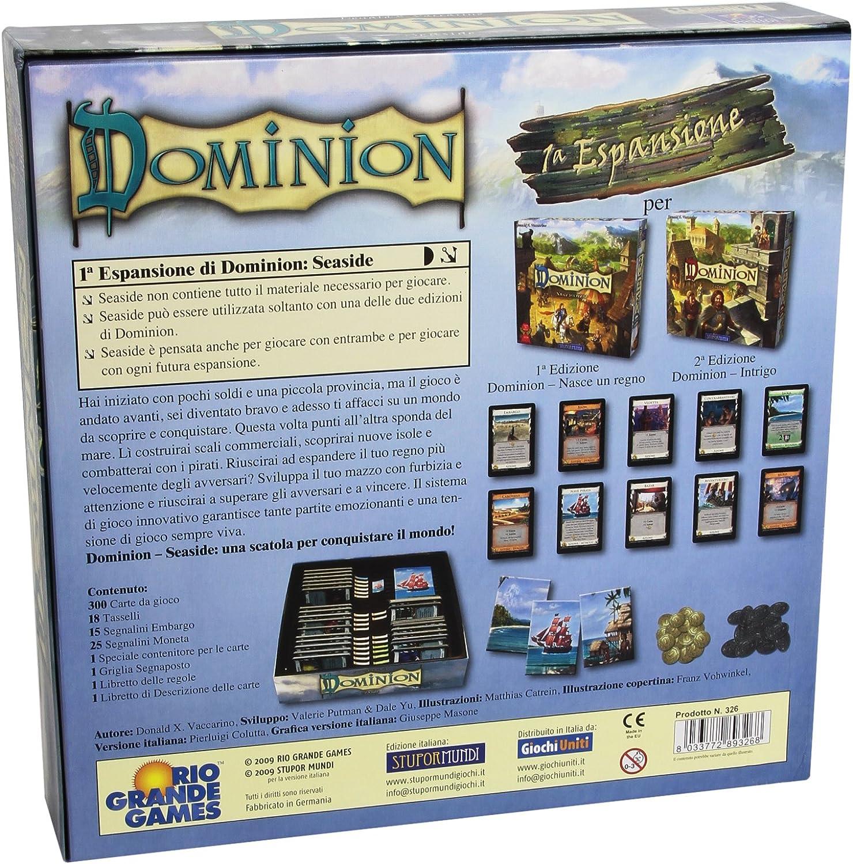 Dominion espansione INTRIGO 2nd Edizione