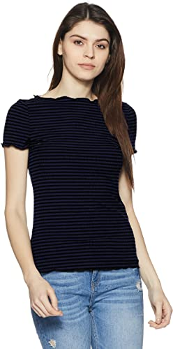 ONLY Women Striped Slim Fit Shirt Shirts