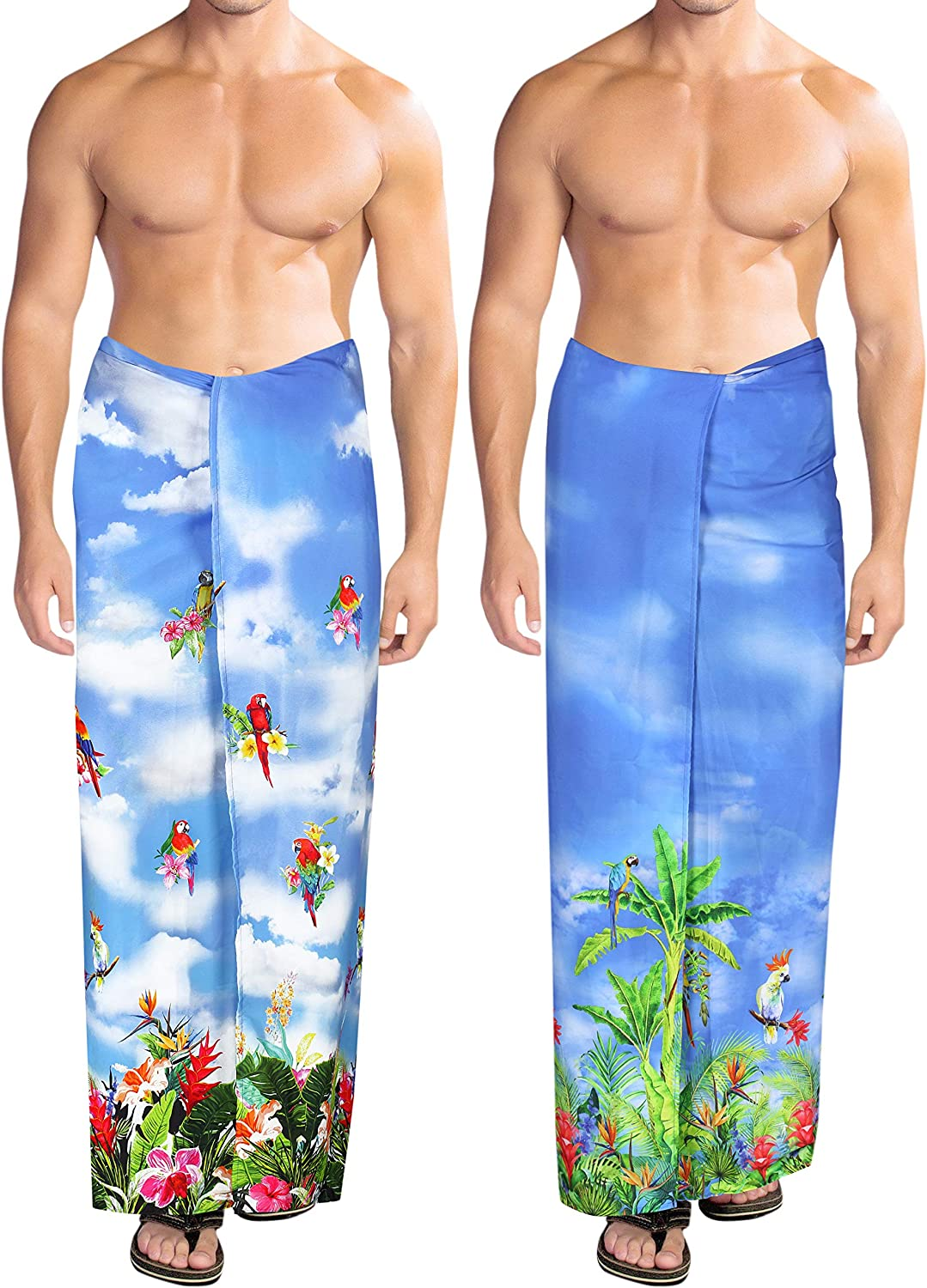 HAPPY BAY Men Swimsuit Cover Up Beach Wrap Lungi Sarong Wraps Work from  Home Clothes Women Beach Wrap Sarong Pack of 2 at Amazon Women's Clothing  store