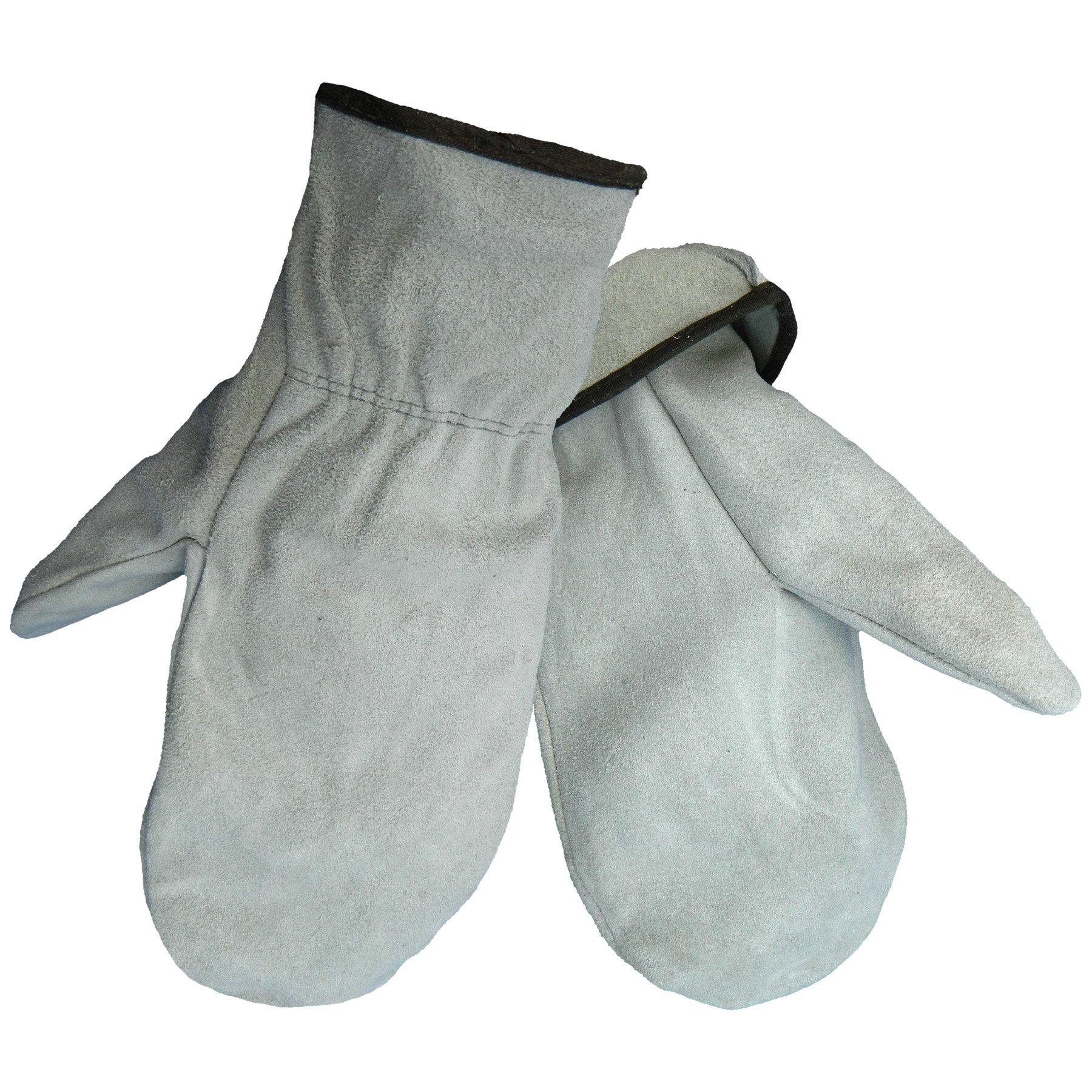Global Glove 52MIT Split Cowhide Unlined Mitten, Large (Case of 72)