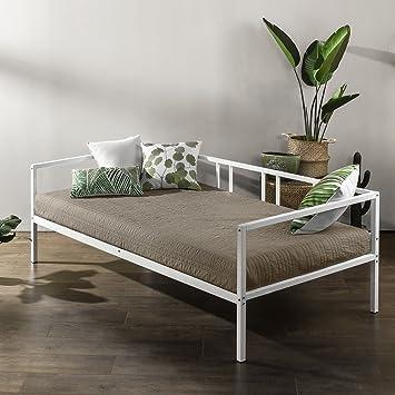 Amazon.com: Zinus Morning Mist individual sofá cama marco ...