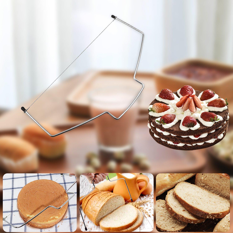 Vereisungsspachtel und glatter WisFox Tortenplatte Drehbar Tortenst/änder Kuchen Drehteller Cake Decorating Turntable mit Zuckerguss Geb/äckwerkzeug Spritzbeutel und Tipps-Set