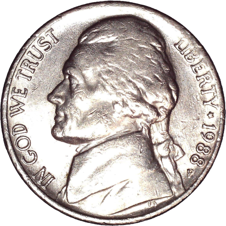 1988 Proof Jefferson Nickel Roll