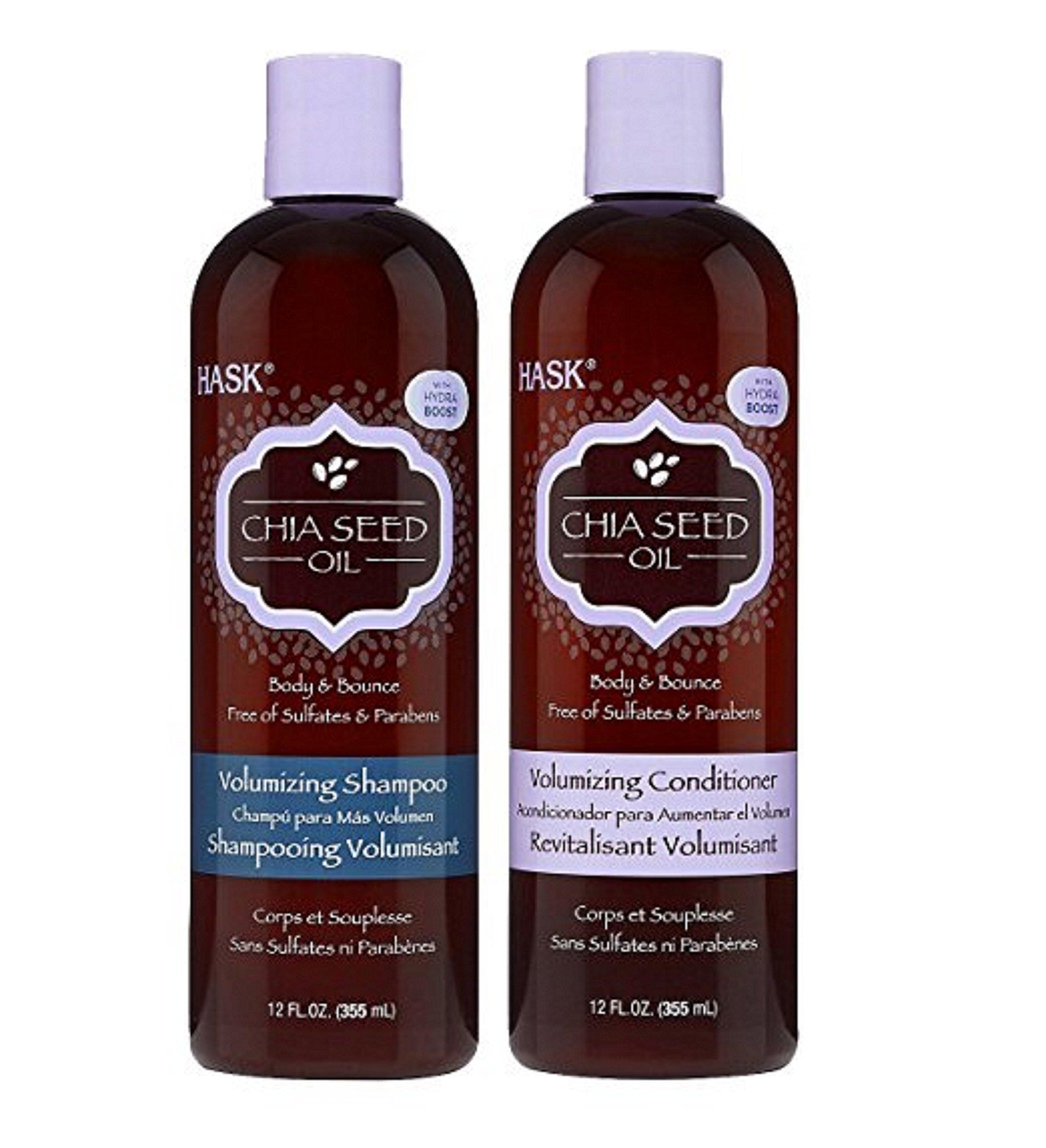 Amazon.com : Hask Volumizing Shampoo, Chia Seed, 12 Ounce