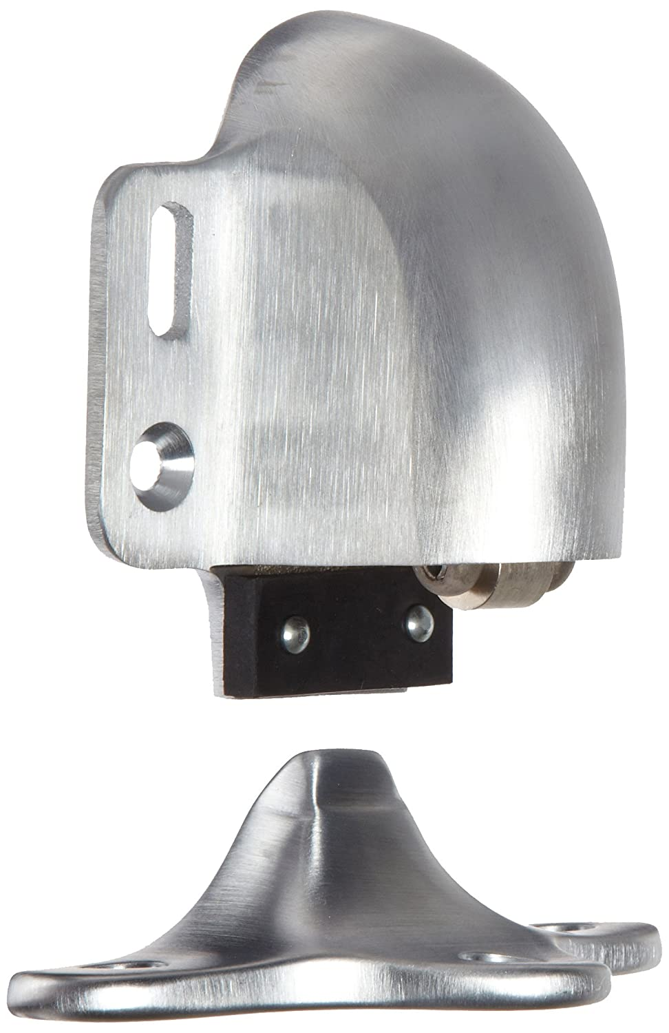 Rockwood 461L.10B Bronze Kick Down Door Stop Satin Oxidized Oil Rubbed Finish 2-1//4 Base Width x 1-1//4 Base Length 4-5//8 Projection 8 X 3//4 OH SMS Fastener
