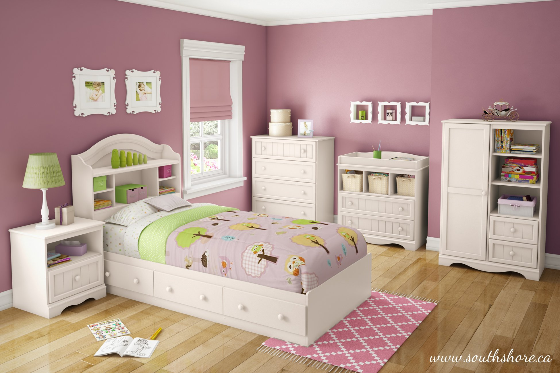 South Shore  Savannah 2-Drawer Changing Table, Pure White by South Shore (Image #7)