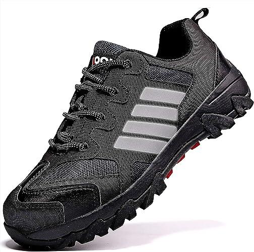 ASHION Chaussures de S/écurit/é Baskets Chantiers et Industrie pour Homme Chaussures de Travail Anti-Perforation
